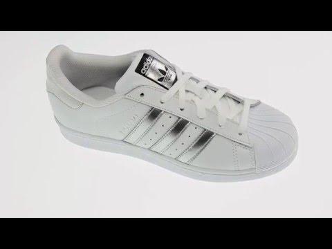 adidas superstar witte lage scarpe su youtube