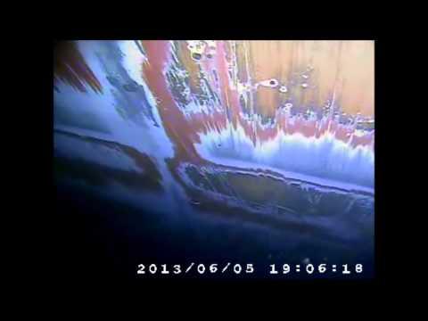 MELL SELARANG UNDERWATER HULL INSPECTION USING CCTV June 5,2013)