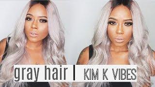 KIM KARDASHIAN Inspired Makeup & Hair featuring DIVASWIG