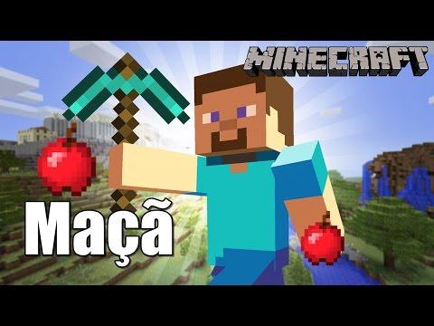 Dois modos de obter Maçã - Minecraft