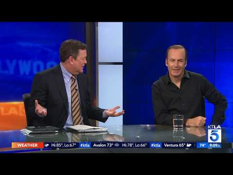 Bob Odenkirk Reacts To His Emmy Nom and Sports Awesome Shorts