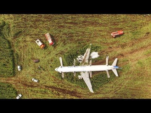 Посадка А321 на кукурузном поле - Пилот Дамир Юсупов. Украина в руках Запада