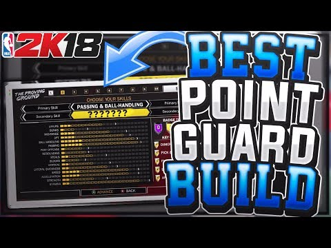 NBA 2K18 BEST Point Guard Build!! EXTREMELY Overpowered in MyPark & Pro Am!