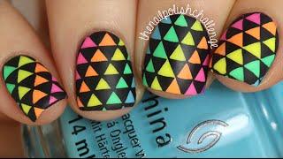 Easy DIY Rainbow Nail Decals || KELLI MARISSA