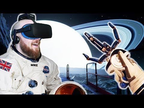 INVESTIGATING A CREEPY ABANDONED SPACE BASE IN VR!! Red Matter Virtual Reality Oculus Rift Gameplay