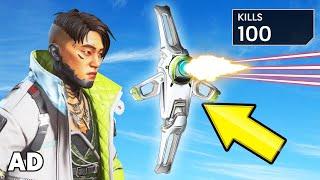 Getting 100 KILLS Using The *NEW* DRONE! (Apex Legends)