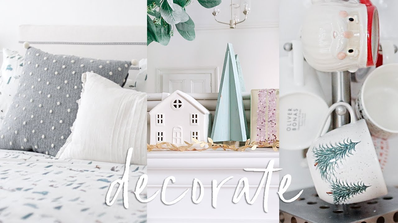 Decorate With Me For Christmas In The New Home Christmas Uk Home