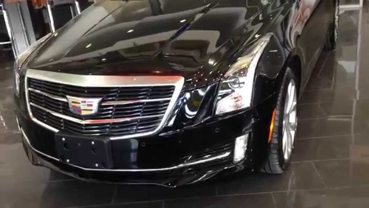 2015 Cadillac ATS Performance W/ Red Interior   YouTube