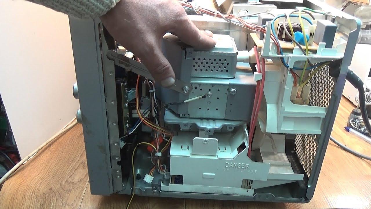 Как отремонтировать микроволновку своими руками фото 369