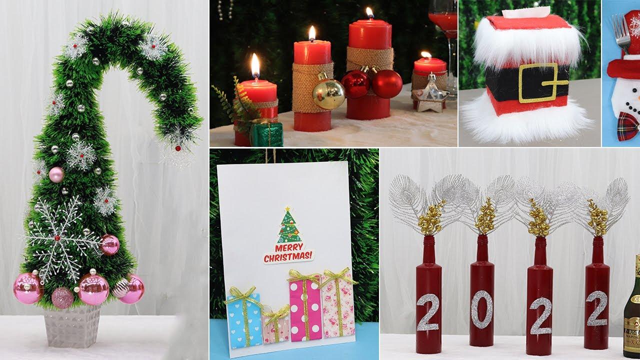 10 Diy Christmas Decorations 2021   Christmas Decorations Ideas 2021