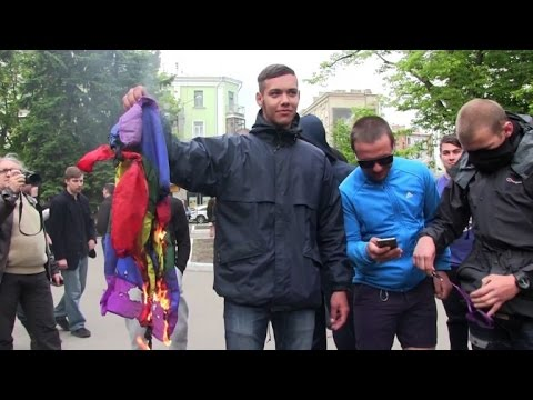 Ukraine : violences lors d'une marche LGBT
