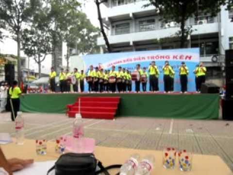 Đội nghi lễ Nhà Thiếu Nhi & Liên Đội Hoàng Văn Thụ Quận 10 - Phần biểu diễn