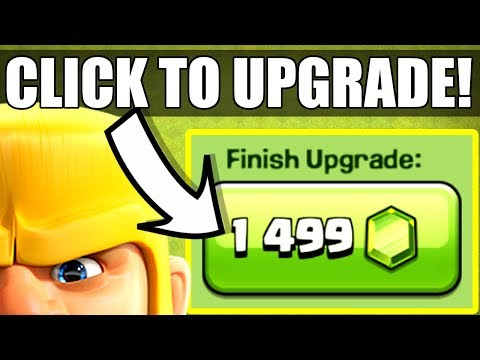 IS THIS A MIRACLE!? - Clash Of Clans - GEM TO MAX LEVEL!!