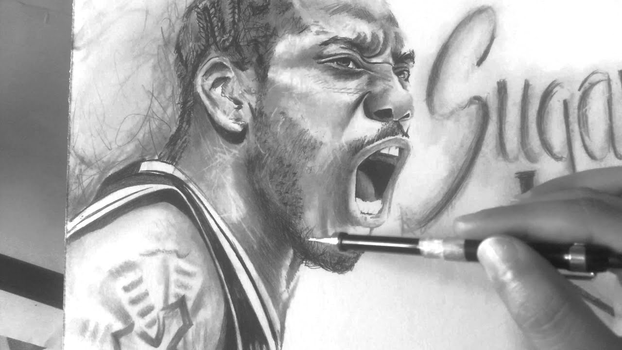 stephen curry wallpaper drawing
