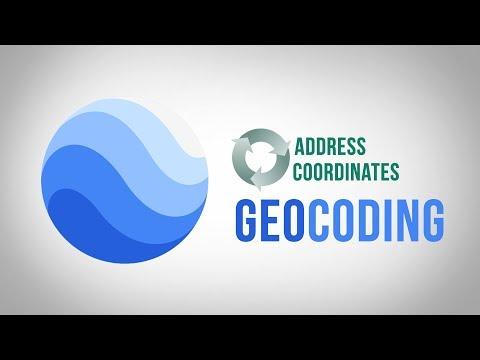 Geocoding - Convert Location Coordinates Into Addresses And Vice Versa In PHP