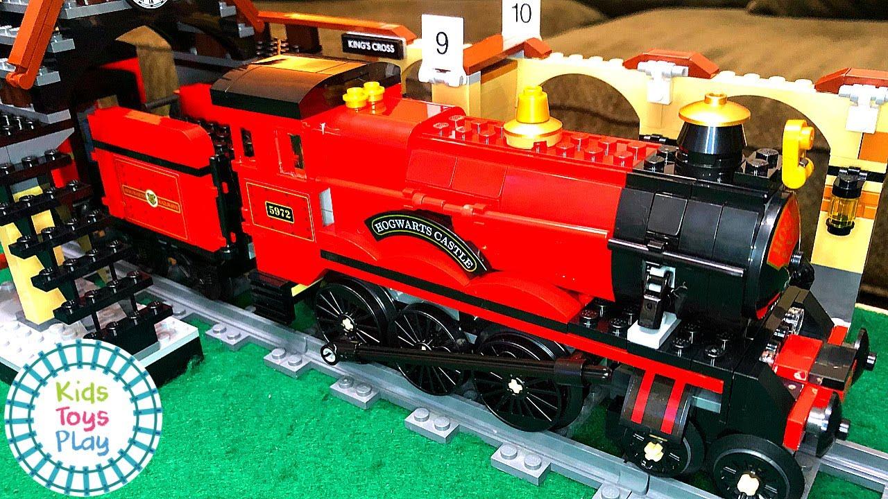 Lego Harry Potter 2019 Set 75955 Hogwarts Express Speed Build