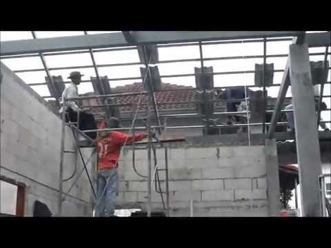 เทคนิคมุงหลังคาซีแพคโมเนีย งานโครงหลังคาบ้าน
