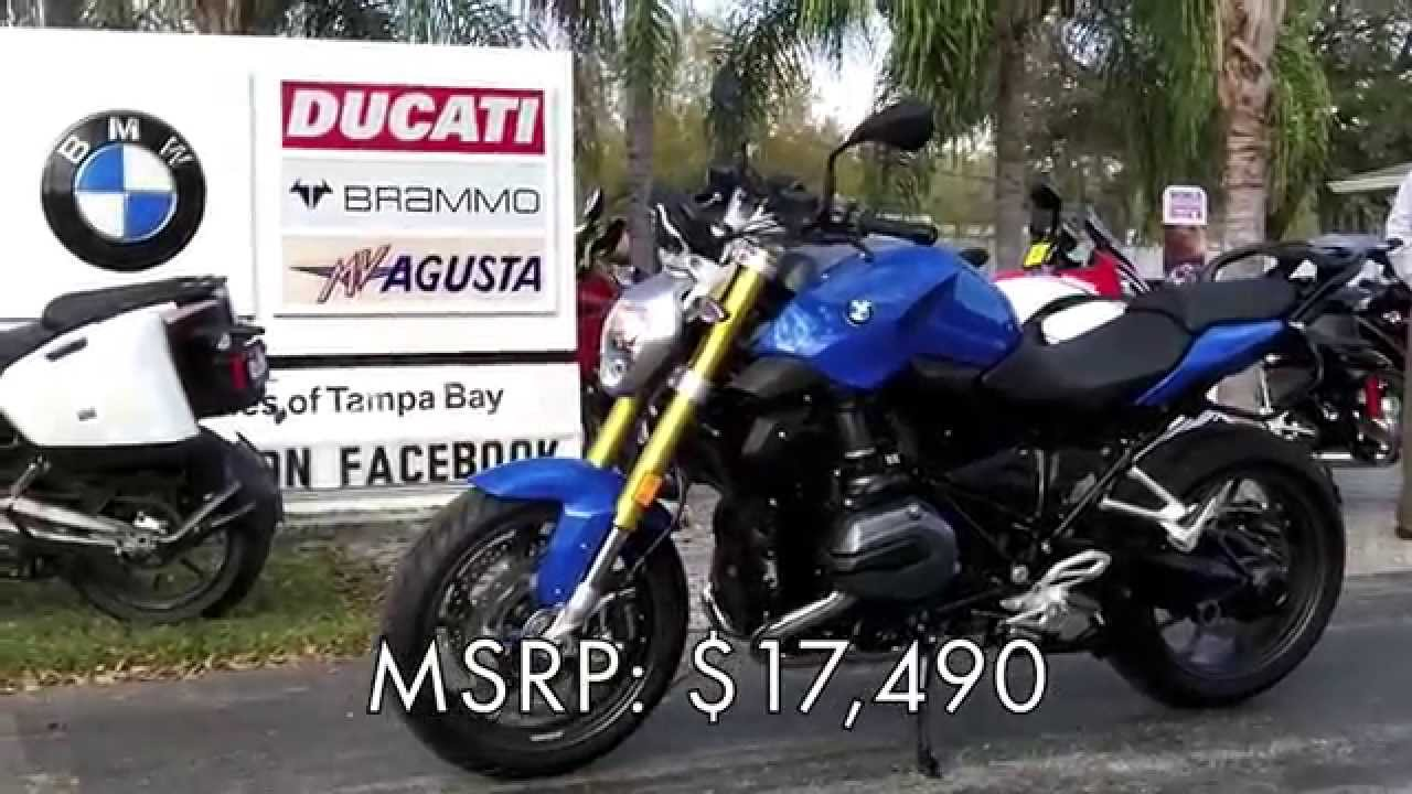 2015 bmw r1200r in cordoba blue at euro cycles of tampa bay youtube. Black Bedroom Furniture Sets. Home Design Ideas