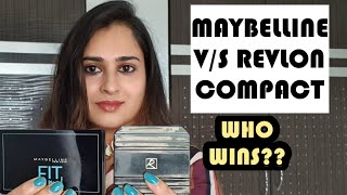 COMPACT POWDER FOR DRY AND OILY SKIN MAYBELLINE FIT ME V S REVLON TOUCH N GLOW COMPACT DEMO