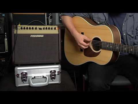 Fishman Loudbox Mini Amp Review/Demo : Crystal Clear Acoustic Sound, Priced For The Working Man