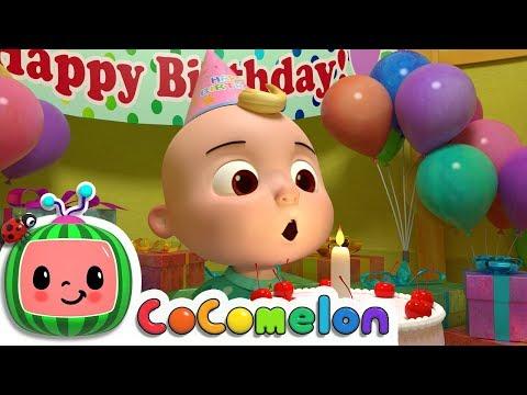 Happy Birthday Song   Nursery Rhymes & Kids Songs - ABCkidTV