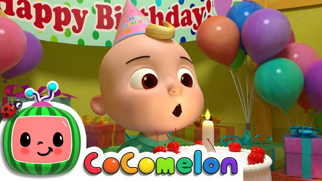 Happy Birthday Song Cocomelon Nursery Rhymes Kids Songs Youtube