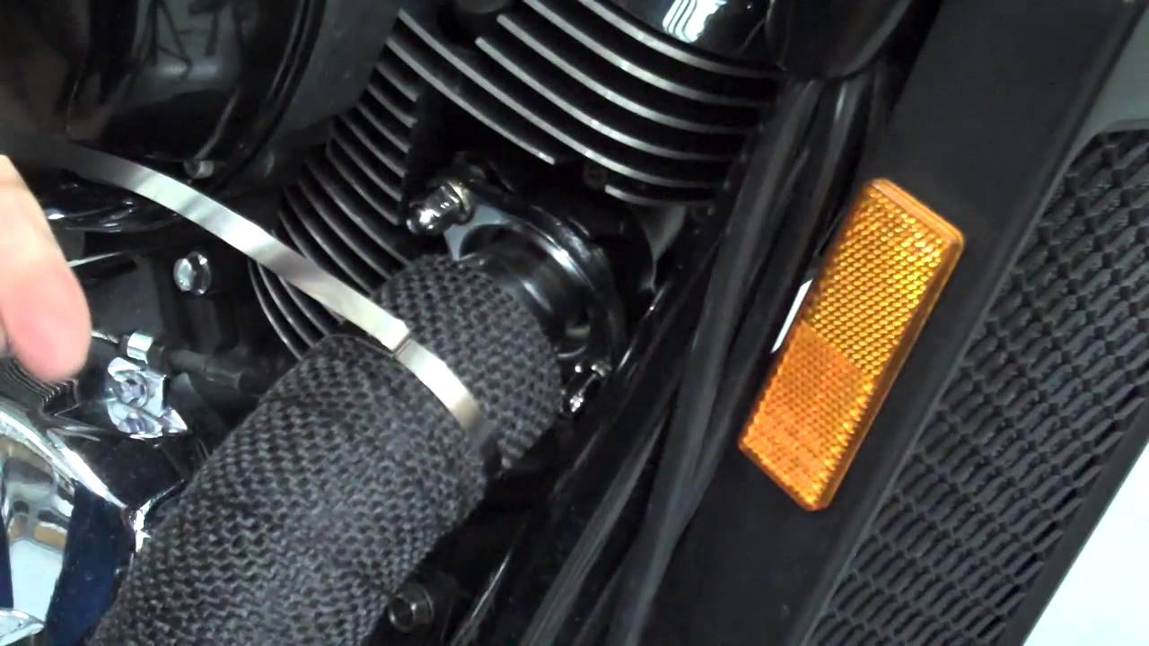 Honda Shadow Ace 750 Gas Tank Amp Exhaust Wrap Youtube