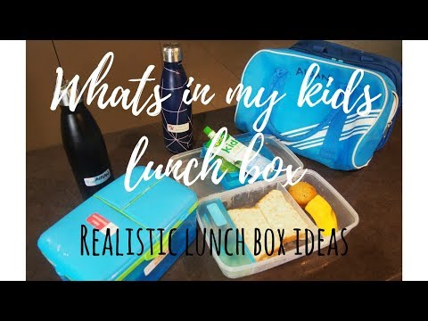 School Lunch Ideas Aussie Edition | Realistic Lunch Options For School Kids