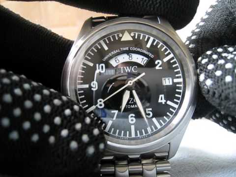 IWC Universal Time Coordinates Pilot watch Ref.3251 Function Testing