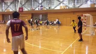 H29 ハンドボール秋季二部リーグ 明星大vs 関東学院(2/5)
