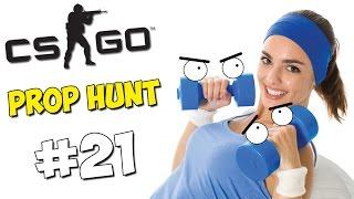 CS:GO Prop Hunt #21 - Прятки, Спорткомплекс, Базар