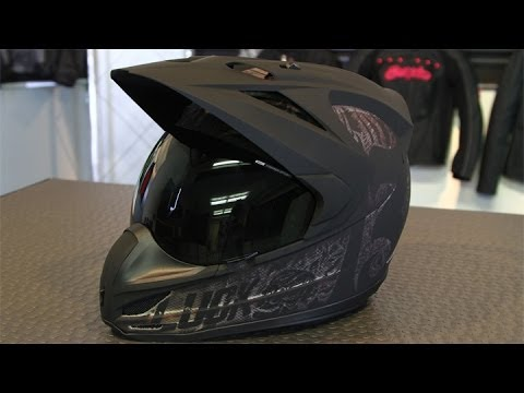 Icon Variant Hard Luck Helmet Motorcycle Superstore
