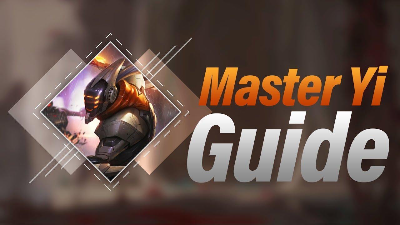 master yi jungle guide