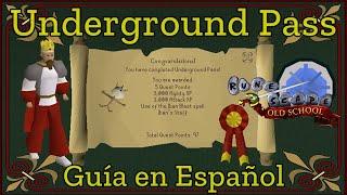 [OSRS] Underground Pass (Español)