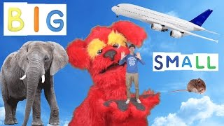 Big Small Action Song for Kids   Learning Opposites   Learn English Children