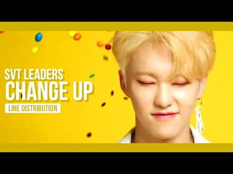 SEVENTEEN LEADERS - Change Up Line Distribution (Color Coded