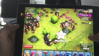 [Cambodia Clash of clans] 300 Golems & 300 Giants