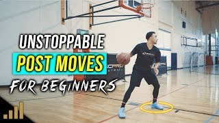 How to: 3 Unstoppable Post Moves For Beginners! DOMINATE THE PAINT