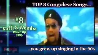 Top 8 Congolese songs you grew up singing in the 90's