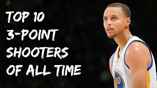 Top 10 3-Point Shooters in NBA History by 3PT%