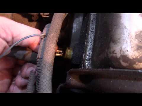 Lada 111 Почему мигает лампа давления масла. Устраняем поломку.Ремонт ВАЗ 21111