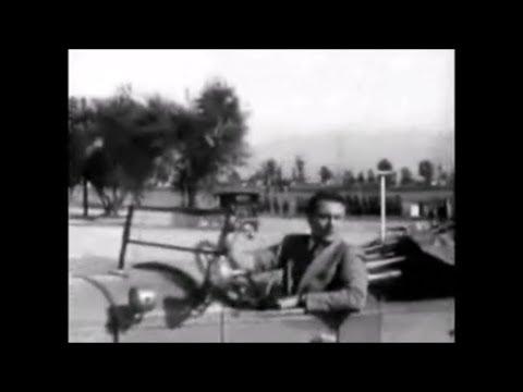 John Wayne Performs His Own Car Stunt in