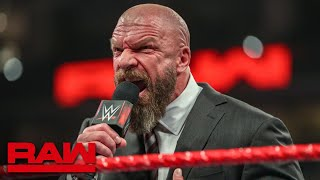 Incensed Triple H challenges Batista to a face-to-face confrontation: Raw, March 4, 2019