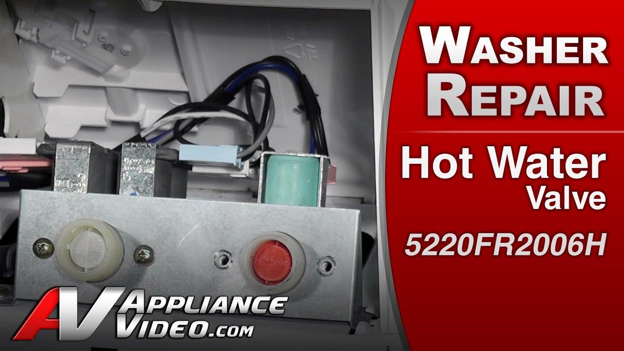 Lg Washer Repair Amp Diagnositic Hot Water Valve