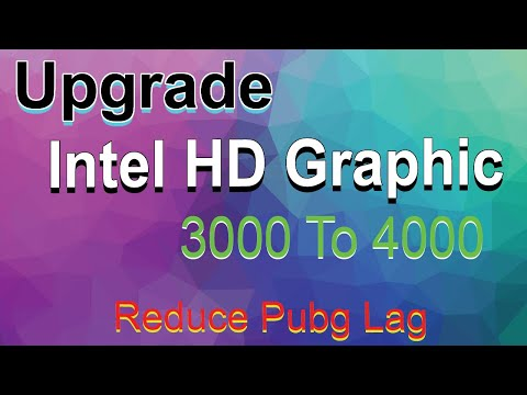How To Upgrade Graphics Card Driver Intel HD Graphics From 3000 to 4000