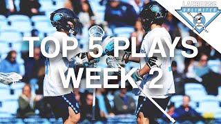 2020 NCAA Top 5 Plays Week 2