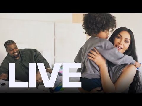 Kimye At Home With The Kids  ET Canada