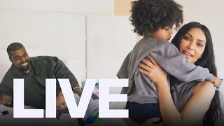 Kimye At Home With The Kids | ET Canada LIVE