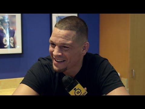 Nate Diaz told us an awesome story about Jerry Rice breaking his heart