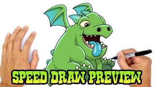 Baby Dragon | Clash Royale Drawing Lesson Preview
